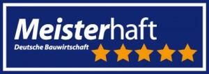 Meisterhaft Logo 5 Sterne