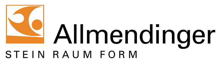 Logo Allmendinger Stein, Raum, Form