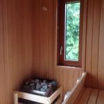 Stukkateur Werner Frank Stuttgart, Sauna